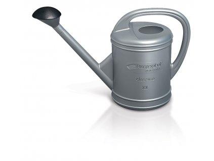 Konev zahradní CLASSICO stříbrná 10l