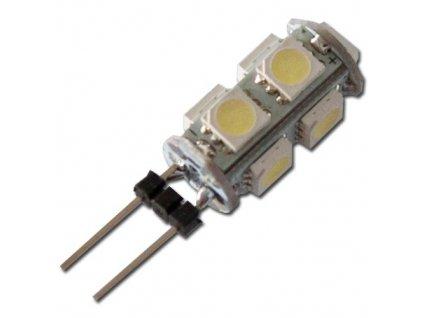 MAX LED žárovka G4 9xSMD 1.5W studená bílá cool white