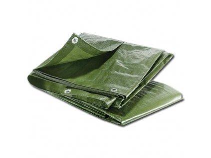 Maxpack 25378 Plachta zakrývací s oky 6x10m 60g/m2 zelená
