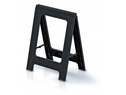 Prosperplast KTIS8060-S411 Podstavec stavební (koza) TITAN STAND černý 580x50x793