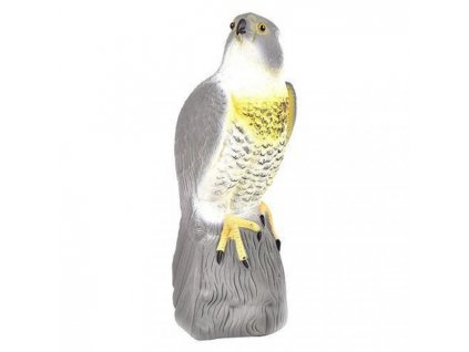 Strend Pro Plašič ptáků Jestřáb stojící 22x40cm