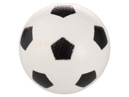 Míček Fotbal gumový míč bílá varianta 42834