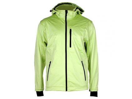 SBP-4 pánská softshellová bunda zelená sv. velikost oblečení M