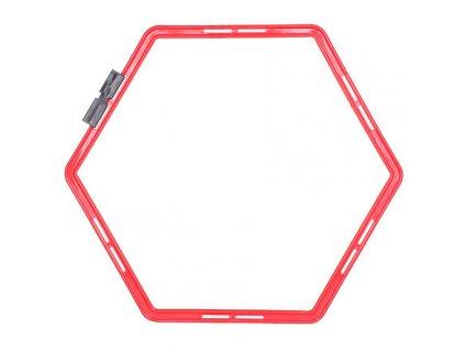 Agility Hex proskakovací šestiúhelník červená varianta 29704