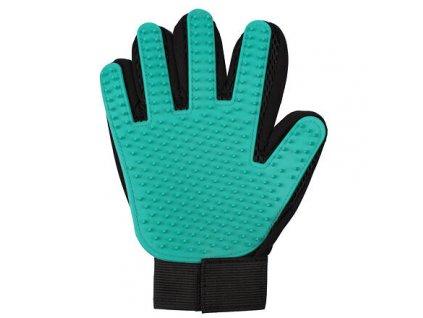 Pet Glove vyčesávací rukavice zelená varianta 40169