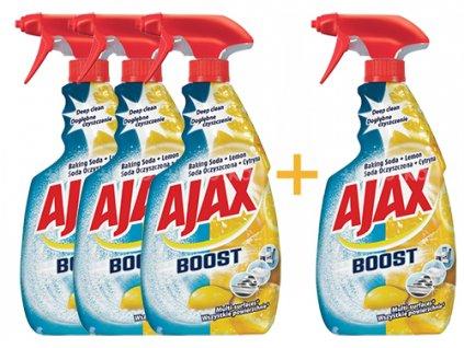 Ajax Boost univerzální čistící prostředek-rozprašovač Baking Soda a Lemon 500 ml