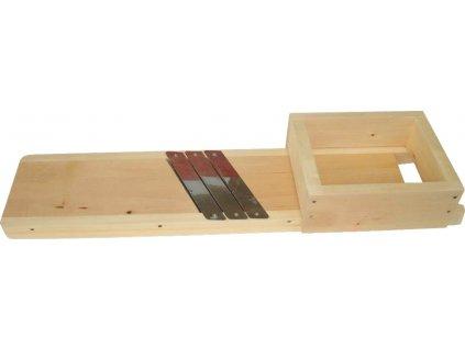 J.A.D. Tools 34015 struhadlo na zelí 67x19cm, se šuplíkem velké