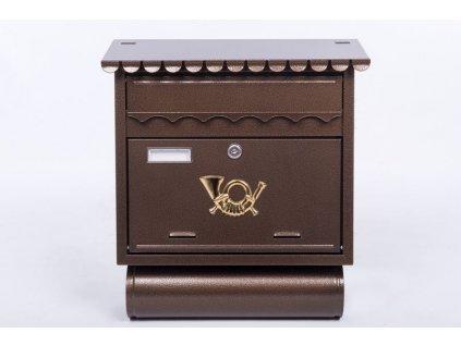 J.A.D. Tools ST 104 Poštovní schránka, bronz