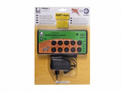 Format Plašič na myši, odháněč na myši, plašič kun OdH1-MAX včetně adaptéru
