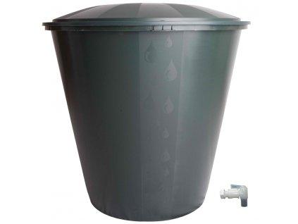 Ecotank sud na dešťovou vodu 300 l s víkem a ventilem