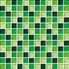 Maxwhite CH4031 Mozaika skleněná zelená 30x30cm sklo