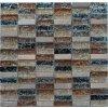 Maxwhite JSM-BL009 Mozaika skleněná kámen hnědá béžová 29,7 x 29,7 cm