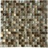 Maxwhite PM001 Mozaika skleněná bílá hnědá 30x30cm sklo kamenná