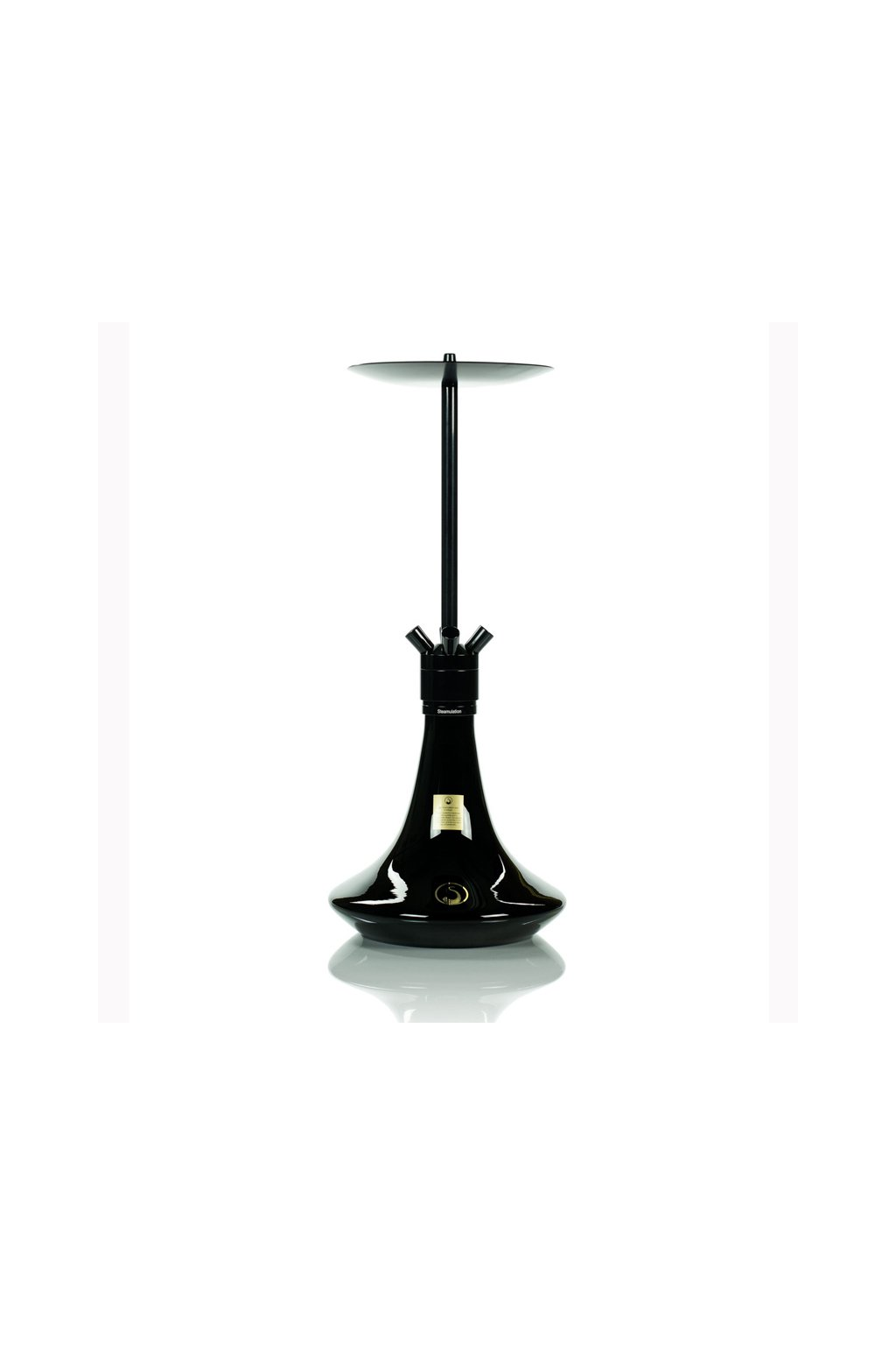 Hookah Steamulation Superior Black Polished