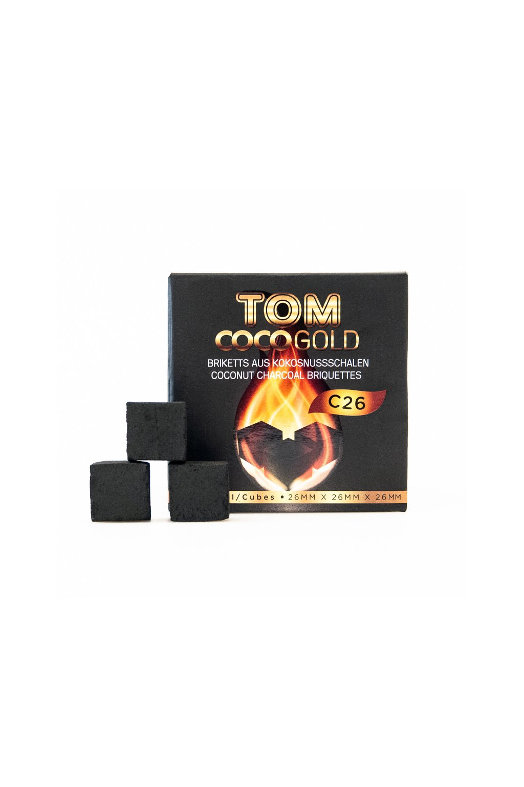 Tom Coco Charcoal 1 kg C26 Gold