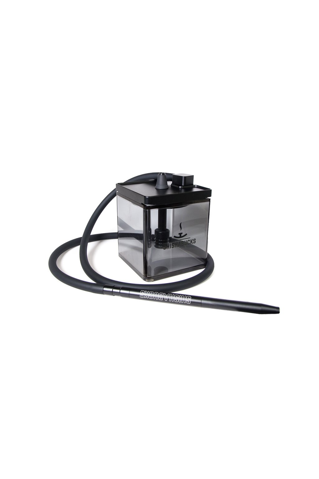 Shishabucks Cloud Micro Double Black 18 cm