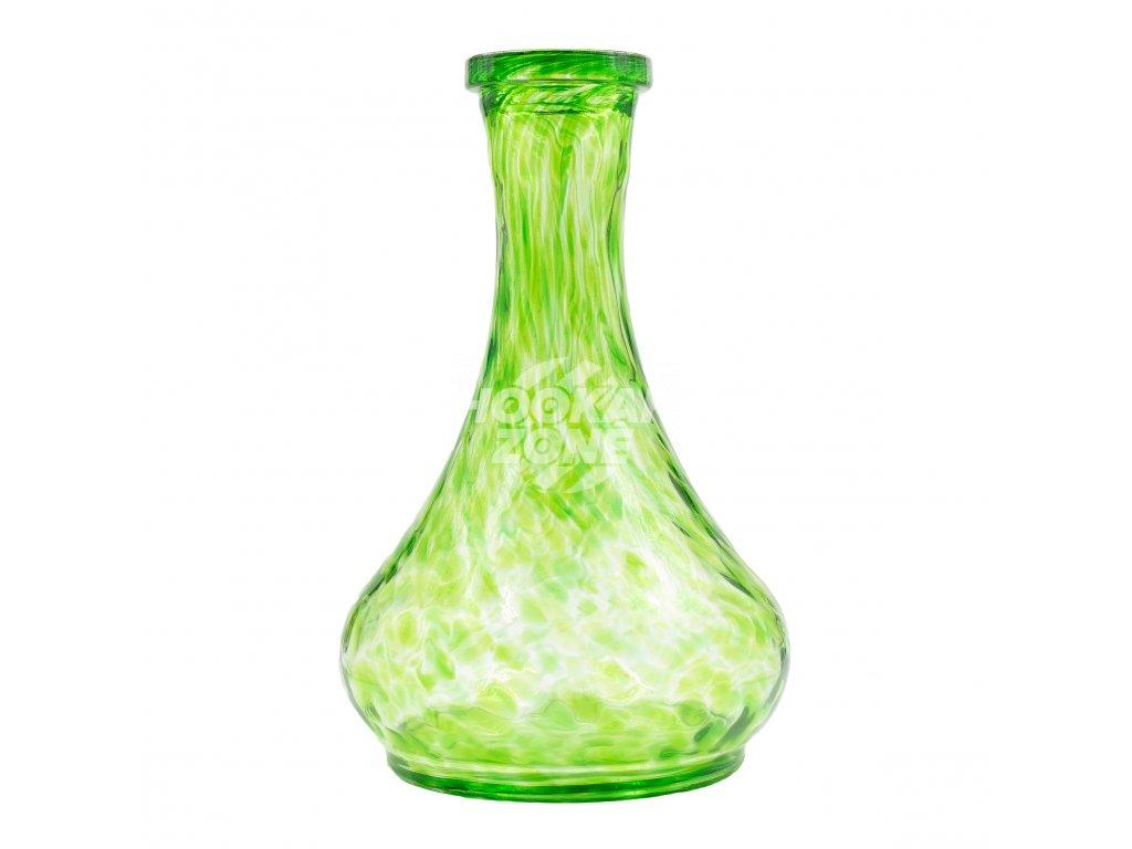 Váza drop (Green splash) 1