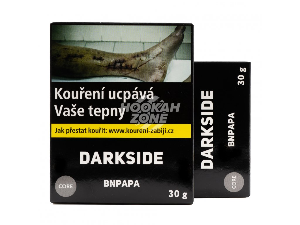 Tabák DARKSIDE Core Bnpapa 30g