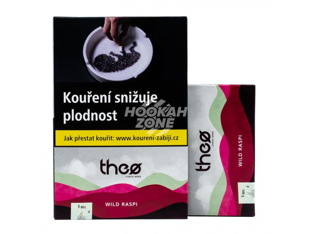 Tabák Theø - WILD RASPI 100g