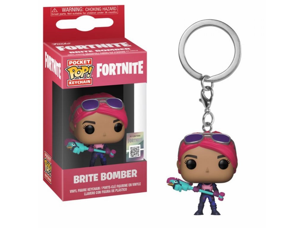 fortnite pop keychain brite bomber