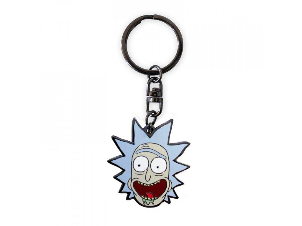 rick and morty keychain rick x4