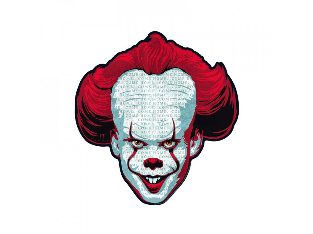 it mousepad pennywise in shape