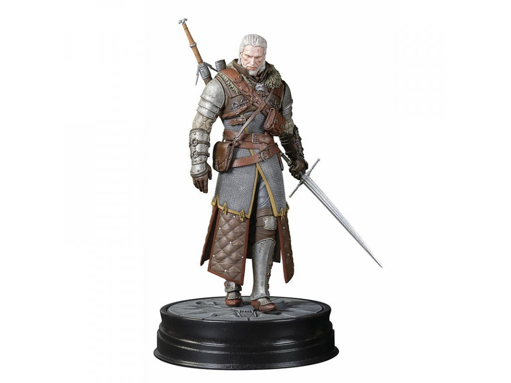 the witcher 3 the wild hunt geralt grandmaster ursine figurine