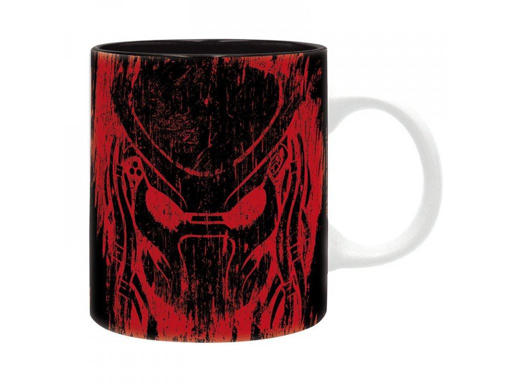 predator mug 320 ml predator red subli with box x2
