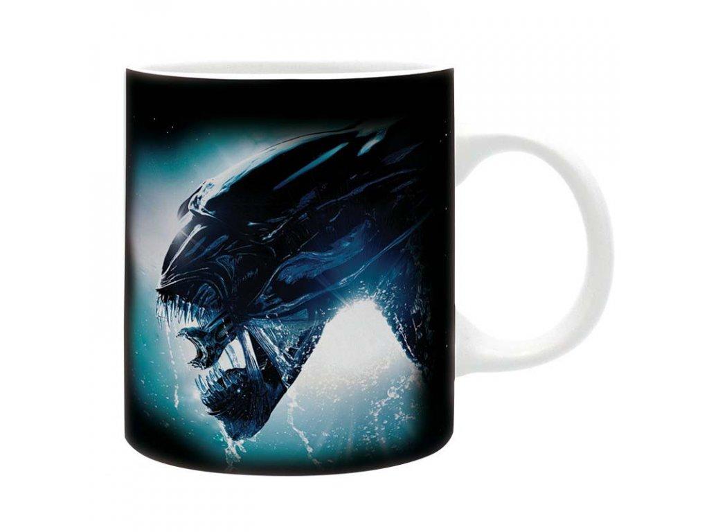 alien mug 320 ml alien subli with box x2
