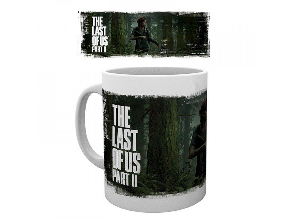 the last of us part ii mug 320 ml ellie art subli box x2