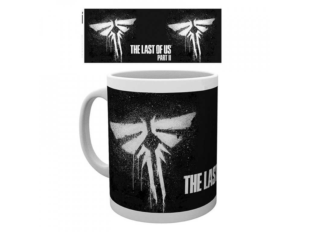 the last of us part ii mug 320 ml firefly subli box x2