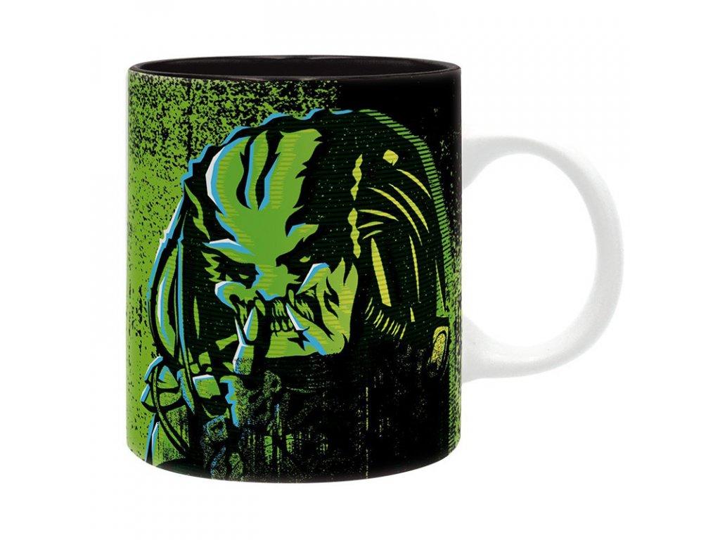 predator mug 320 ml predator green subli with box x2