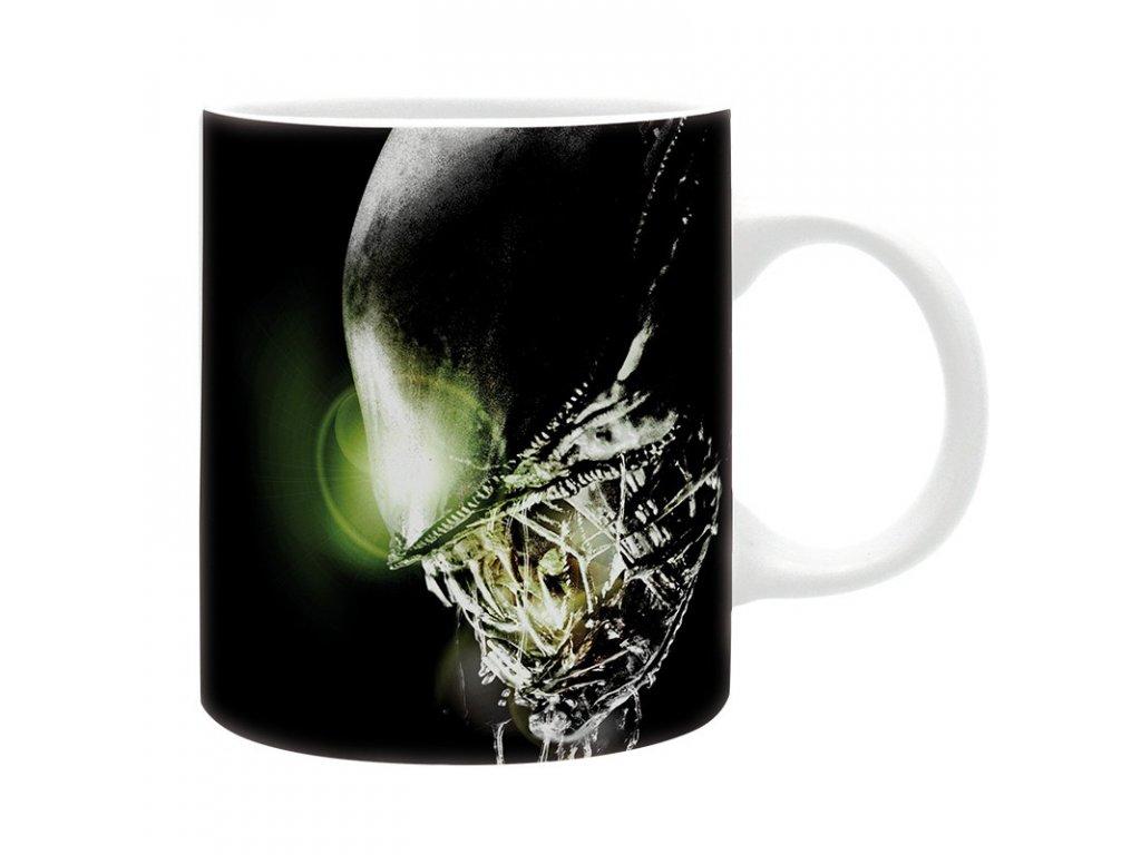 alien mug 320 ml in space subli with box x2