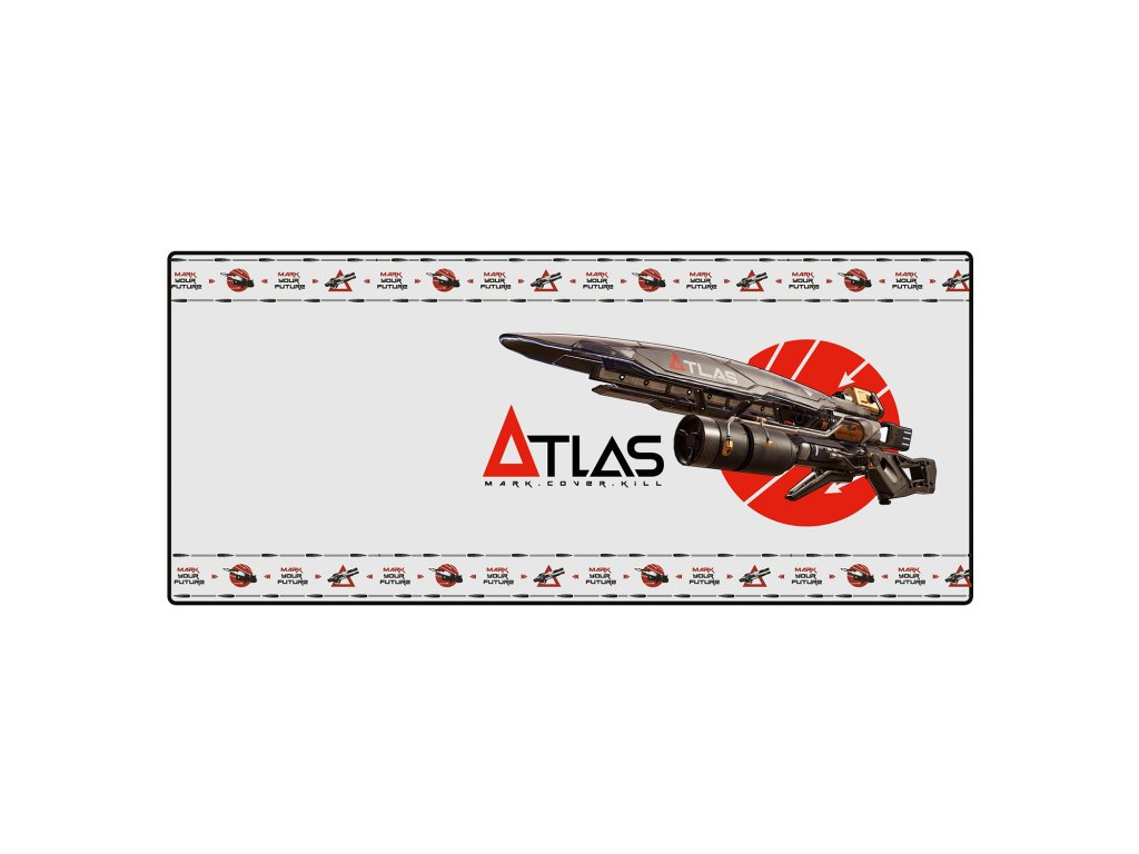 Borderlands mousepad atlas