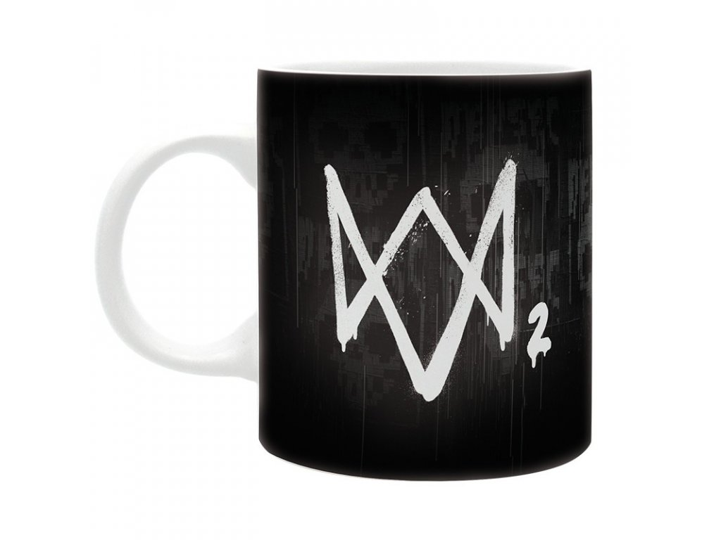 watch dogs 2 mug 320 ml marcus subli with boxx2