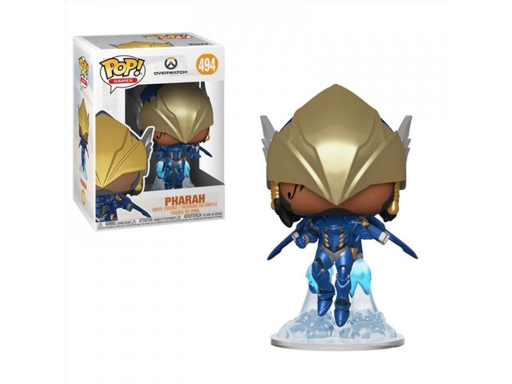 overwatch pop vinyl pharah pose victorieuse