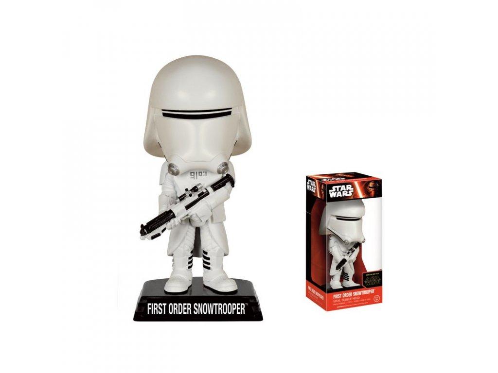 star wars ep vii wacky wobler snow trooper