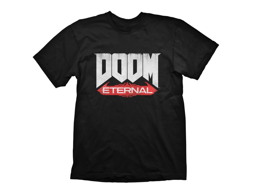 DOOM Eternal tričko logo