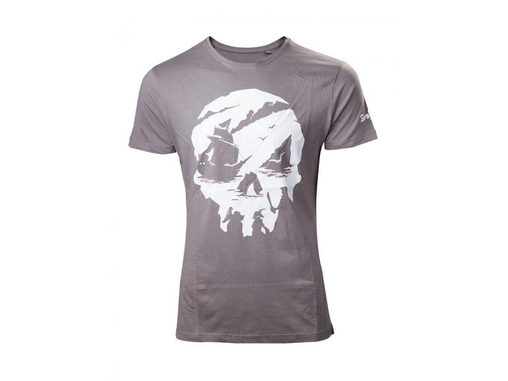 Sea of Thieves tričko Skull logo