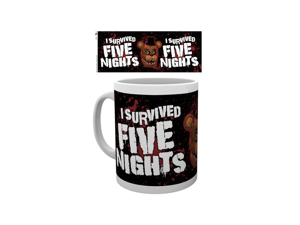 Five Nights at Freddy´s hrnek I Survived