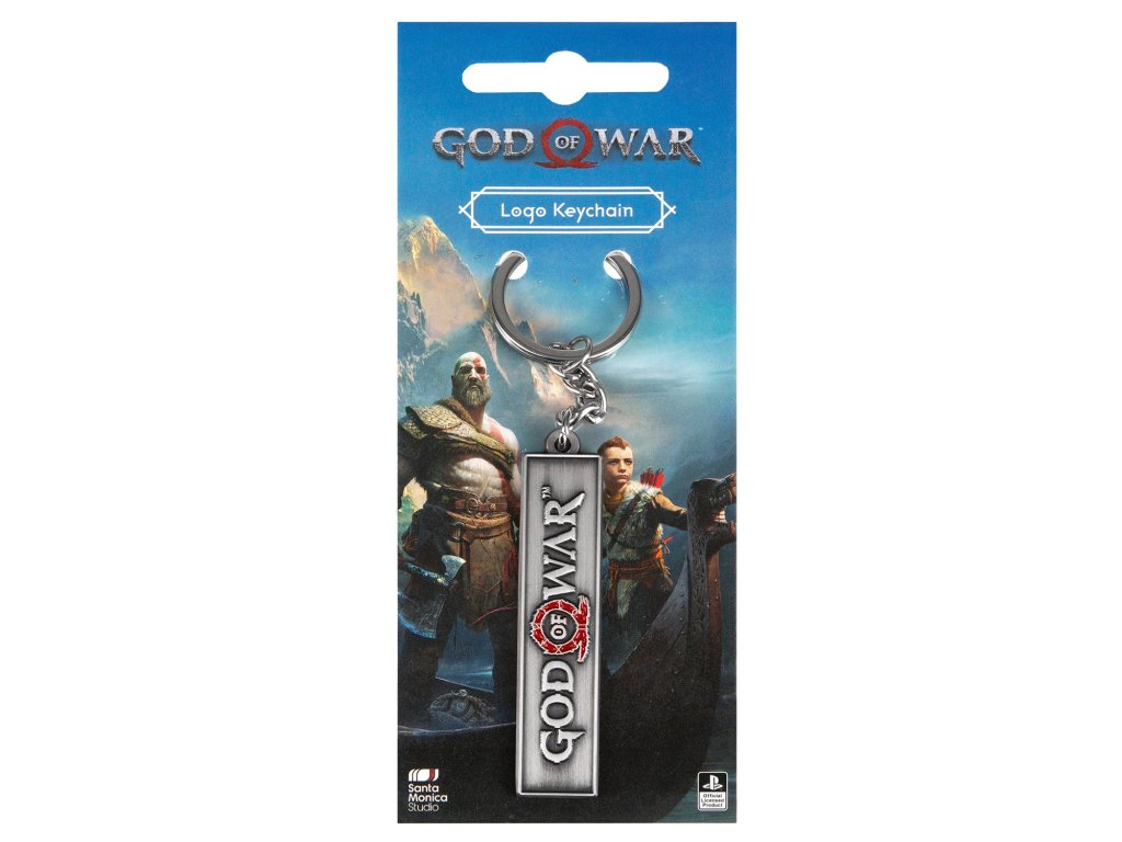God of War klíčenka logo