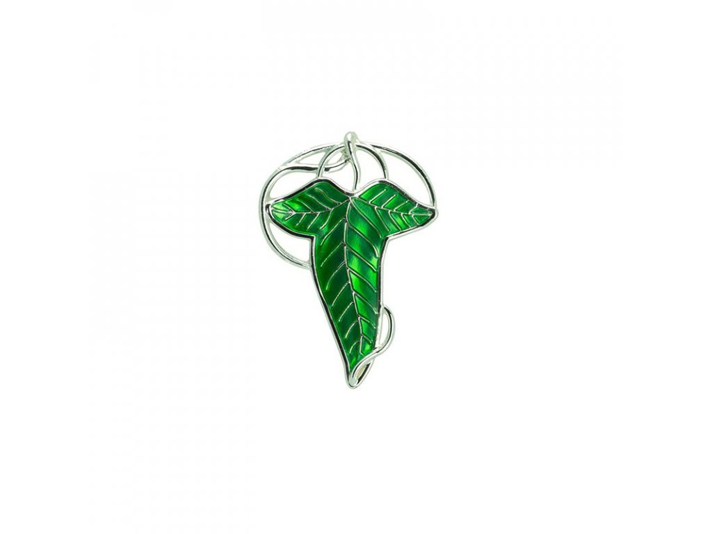 lord of the rings pin 3d lorien leaf