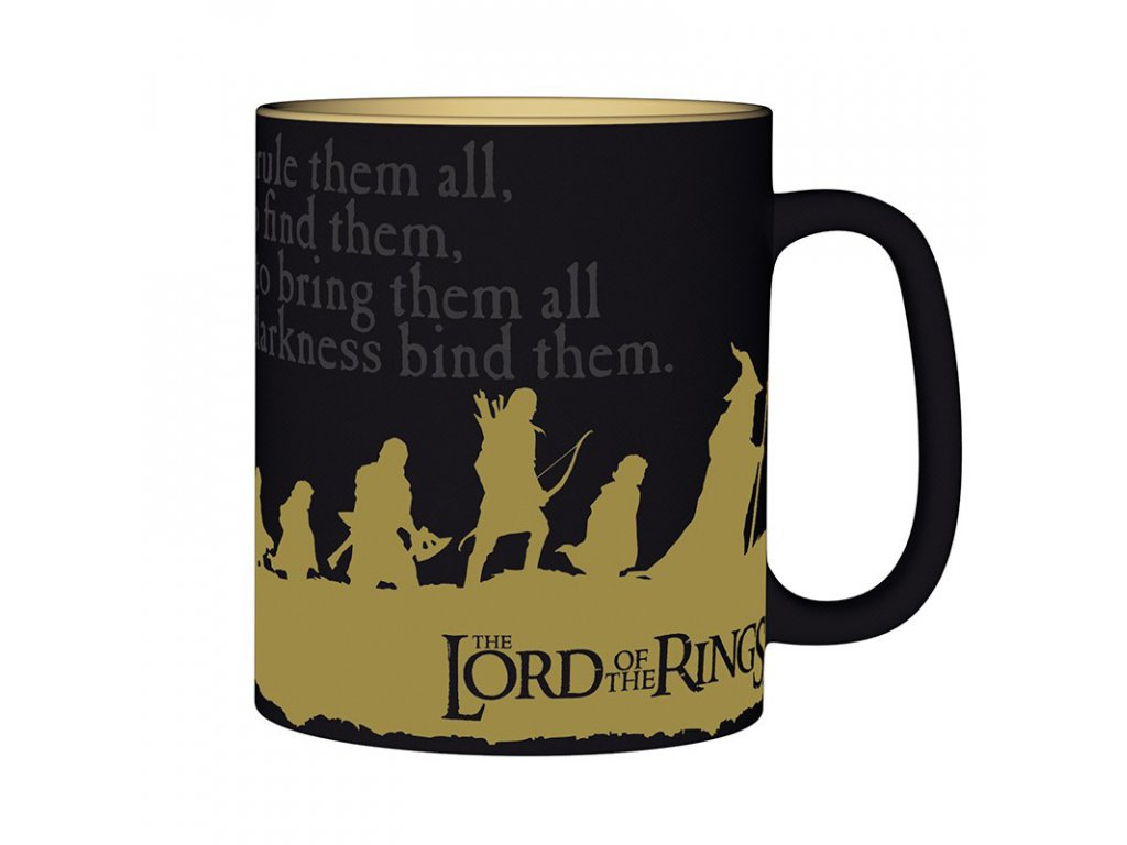 lord of the rings mug 460 ml group with box x2