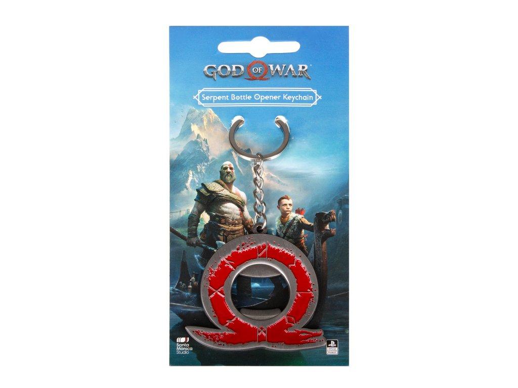 God of War klíčenka otvírák na láhve