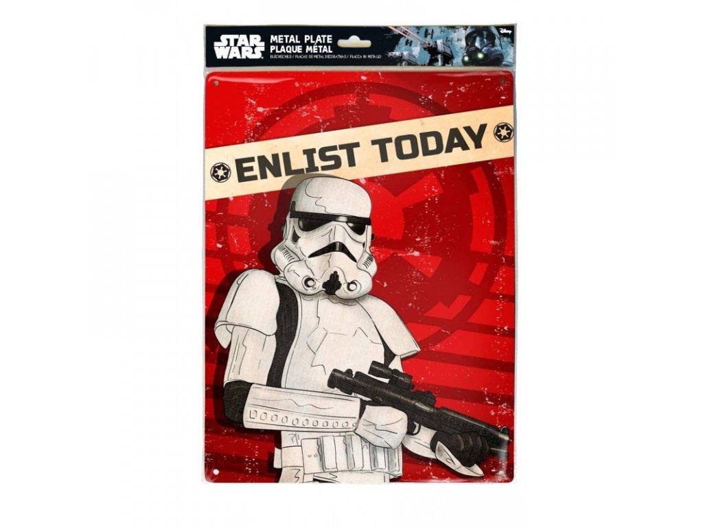 star wars metal plate enlist today 28x38 (3)
