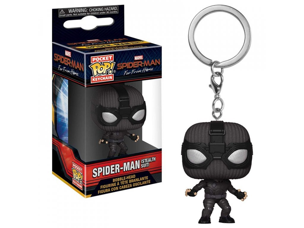 marvel pop keychain far from home spider man stealth suit (1)