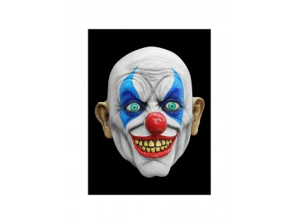 psycho clown horror mask made of latex mw 117660 2