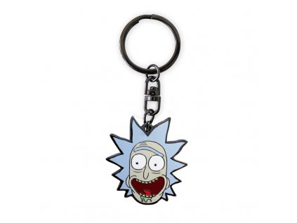 rick and morty keychain rick x4