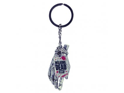 the walking dead keychain 3d zombie hand x2