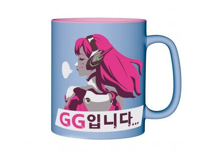 overwatch mug 460 ml dva with box x2